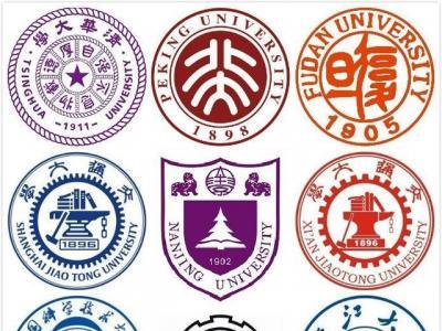 上海大学校园 矢量图